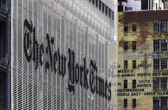 Francois Illas New Tradition: New York Times Headquarters